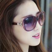 墨鏡女潮個性眼鏡優雅太陽鏡女士圓臉日韓司機 優樂居生活館