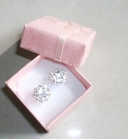 時尚 戒指 飾品 包裝盒 蝴蝶結 正方型 飾品 銷售包裝盒 精美禮盒