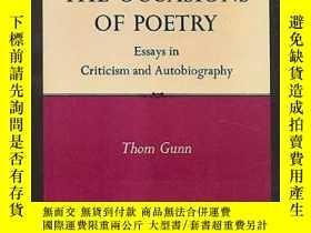 二手書博民逛書店The罕見Occasions Of Poetry-詩歌的場合Y436638 Thom Gunn North P