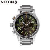 NIXON 手錶 總代理A486 1956 48 20 The CHRON 復古仿舊原鋼潮