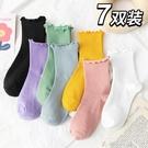 襪子女ins潮中筒襪長襪月子襪堆堆襪夏季薄款夏天春秋季日系可愛