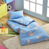 義大利Fancy Belle X DreamfulCat《夢遊星空》單人防蹣抗菌兒童睡袋