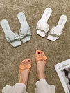 拖鞋女士涼拖鞋女夏外穿2020新款可愛網紅ins潮蝴蝶結時尚百搭拖鞋非凡小鋪