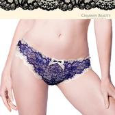 Chasney Beauty-舞動陽光M-XL蕾絲三角褲(藍白)