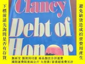 二手書博民逛書店TOM罕見CLANCY DEBT OF HONOF(1994年英