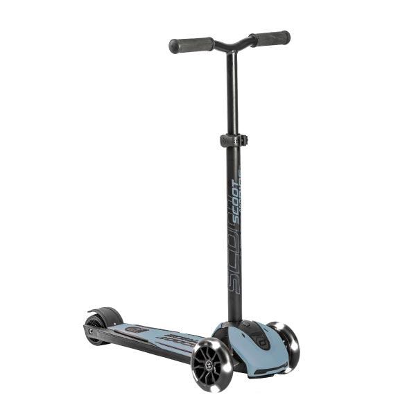 奧地利 Scoot & Ride Kick 5 LED發光輪滑板車(4色可選)