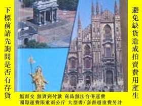 二手書博民逛書店英文原版:MILAN罕見Tourist guide WITH M