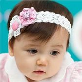*甜蜜蜜親子童裝*韓單《鈕扣花朵款》公主款甜美髮帶