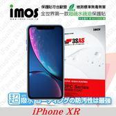 """【現貨】APPLE iPhone XR (6.1"""")  iMOS 3SAS 防潑水 防指紋 疏油疏水 螢幕保護貼"""