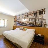 花蓮杰克山莊渡假大飯店雙人房住宿1間(1大床/2小床)含早餐(假日+300)