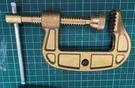 焊接五金網 - 焊接用 純銅C型夾