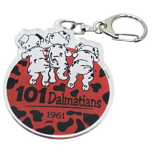 《Small Planet》迪士尼歡樂人物日本製壓克力鑰匙圈(101忠狗)_DP24887