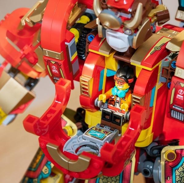 滿1399送悟空外送小車【LEGO樂高】Monkie Kid悟空小俠系列-齊天大聖黃金機甲 #80012