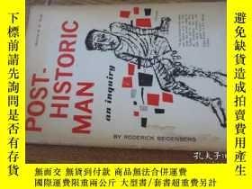 二手書博民逛書店post-historic罕見man an inquiryY57