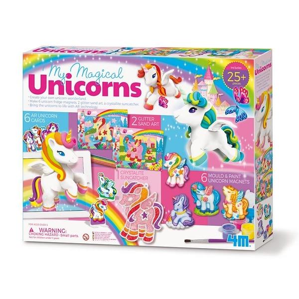 《4M美勞創作》奇幻獨角獸豪華組 My Magical Unicorns / JOYBUS玩具百貨
