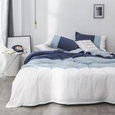 床上簡約被套四件套全棉純棉歐式床單