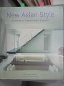 【書寶二手書T4/建築_WFR】New Asian Style: Contemporary Tropical Living in Singapore_Marsden, Jane Doughty