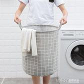 換洗衣服收納籃臟衣籃裝玩具的收納筐布整理袋北歐衣物收納箱簍子WD 溫暖享家