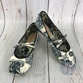 BRAND楓月 Christian Dior 迪奧 日本限定 動物塗鴉 黑白 水墨畫 平底鞋 娃娃鞋