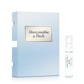 Abercrombie & Fitch 湛藍女性淡香精針管(2ml)★ZZshopping購物網★