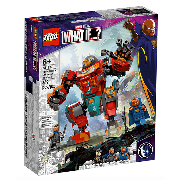 Lego 樂高 MARVEL SUPER HEROES系列Tony Stark's Sakaarian Iron Man_LG76194