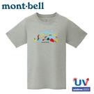 【Mont-Bell 日本 女 WIC.T COLORFUL TRAIL 短袖排汗T恤《炭灰》】1114537/圓領衫/運動上衣