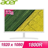 【南紡購物中心】ACER 宏碁 ED322Q A 32型 VA曲面螢幕