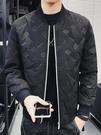 棉衣男2020年冬季加厚加絨短款韓版潮流棒球服外套帥氣輕薄款棉服 黛尼時尚精品