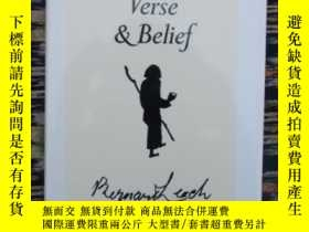 二手書博民逛書店Drawings,罕見Verse and Belief [sig