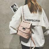 小包包女鏈條小書包日繫時尚百搭後背包【聚寶屋】