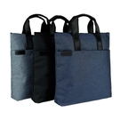 公事包公文包 商務手提辦公包帆布包男女包上班用包包多層防水會議包公文包定制 風馳