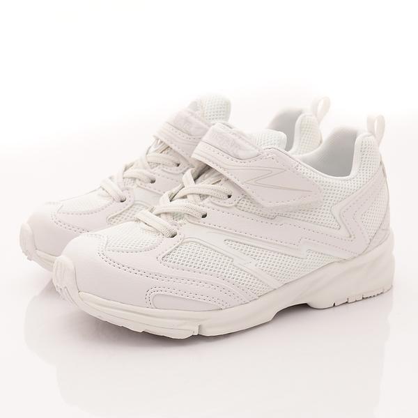 日本Moonstar機能童鞋  3E競速系列運動鞋 TW011白(中大童段)