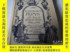 二手書博民逛書店【罕見】1954年出版 Everybody s Pepys---