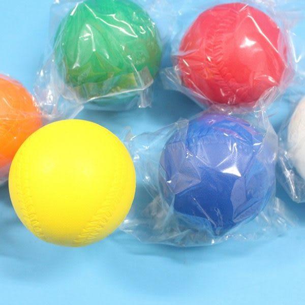 樂樂棒球 彩色高彈跳標準比賽專用樂樂棒球 直徑9cm MIT製 /一個入 [#80]
