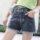 牛仔短褲女高腰網紅韓版潮夏季新款外穿顯瘦寬鬆a字闊腿熱褲