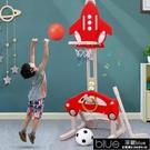 兒童籃球架 兒童籃球架家用室內可升降投藍框架男孩3-6歲1寶寶足球門球類玩具