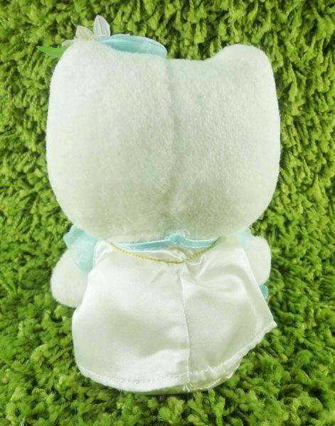 【震撼精品百貨】Hello Kitty 凱蒂貓~KITTY絨毛娃娃-百合造型-藍色