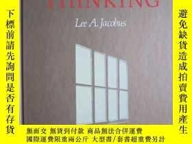 二手書博民逛書店Writing罕見as Thinking(英語原版 精裝本)以寫