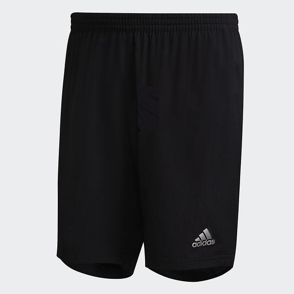 ADIDAS RUN IT SHORTS 男裝 短褲 慢跑 訓練 有內裡 反光細節 黑【運動世界】FS9808