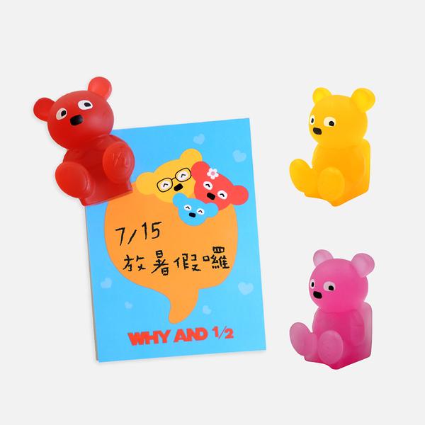 WHY AND 1/2 普普熊磁鐵 多色可選