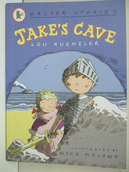 【書寶二手書T3/原文小說_GO9】Jake s Cave (Walker Stories)_Lou Kuenzler