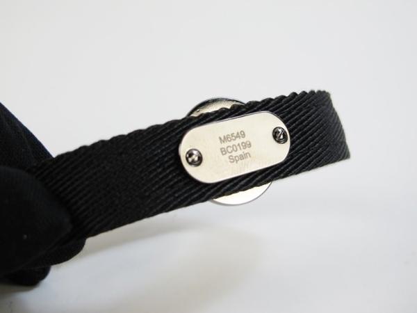 【巴黎站二手名牌專賣店】*現貨*LV 路易威登 真品*M6549D 經典黑色花紋LV CIRCLE系列手環