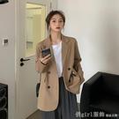 西裝外套 西裝外套女設計感小眾秋季2020新款韓版春秋英倫風休閒長袖小西服 618購物節