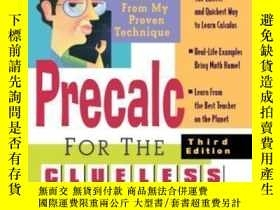 二手書博民逛書店Bob罕見Miller s Precalc For The CluelessY307751 Miller Mc