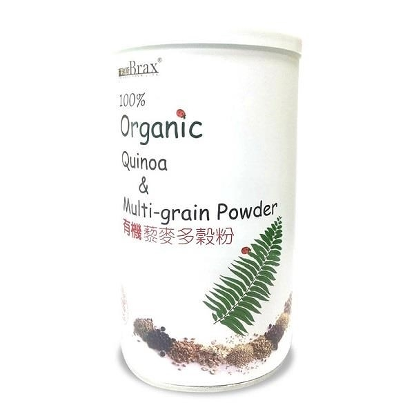 【南紡購物中心】百瑞斯有機藜麥多穀粉(400g/罐)(3入)