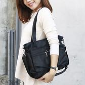 Catsbag|簡約時尚大容量防潑水多收納二用托特包|手提斜背包|1725
