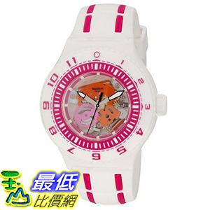 [美國直購] Swatch Unisex SUUW101 Feel the Wave Analog Display Quartz White Watch 手錶