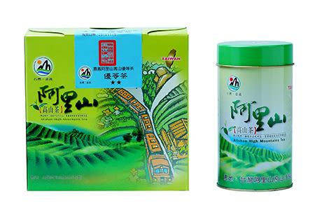 阿里山優等烏龍茶葉禮盒(150g*2罐/盒)