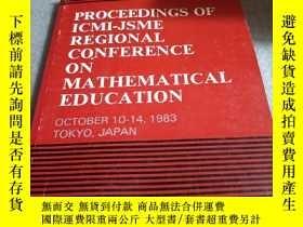 二手書博民逛書店Proceedings罕見of ICMI-JSME Region