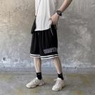休閒短褲 國潮運動褲男籃球短褲寬鬆夏季潮牌ins休閒五分褲街頭嘻哈沙灘褲
